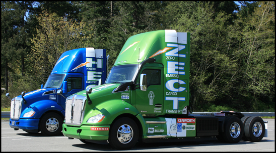 Kenworth HECT and ZECT T680 trucks