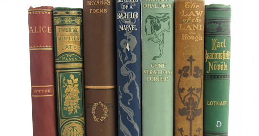 Friday Giveaway: Seven Antiquarian Books