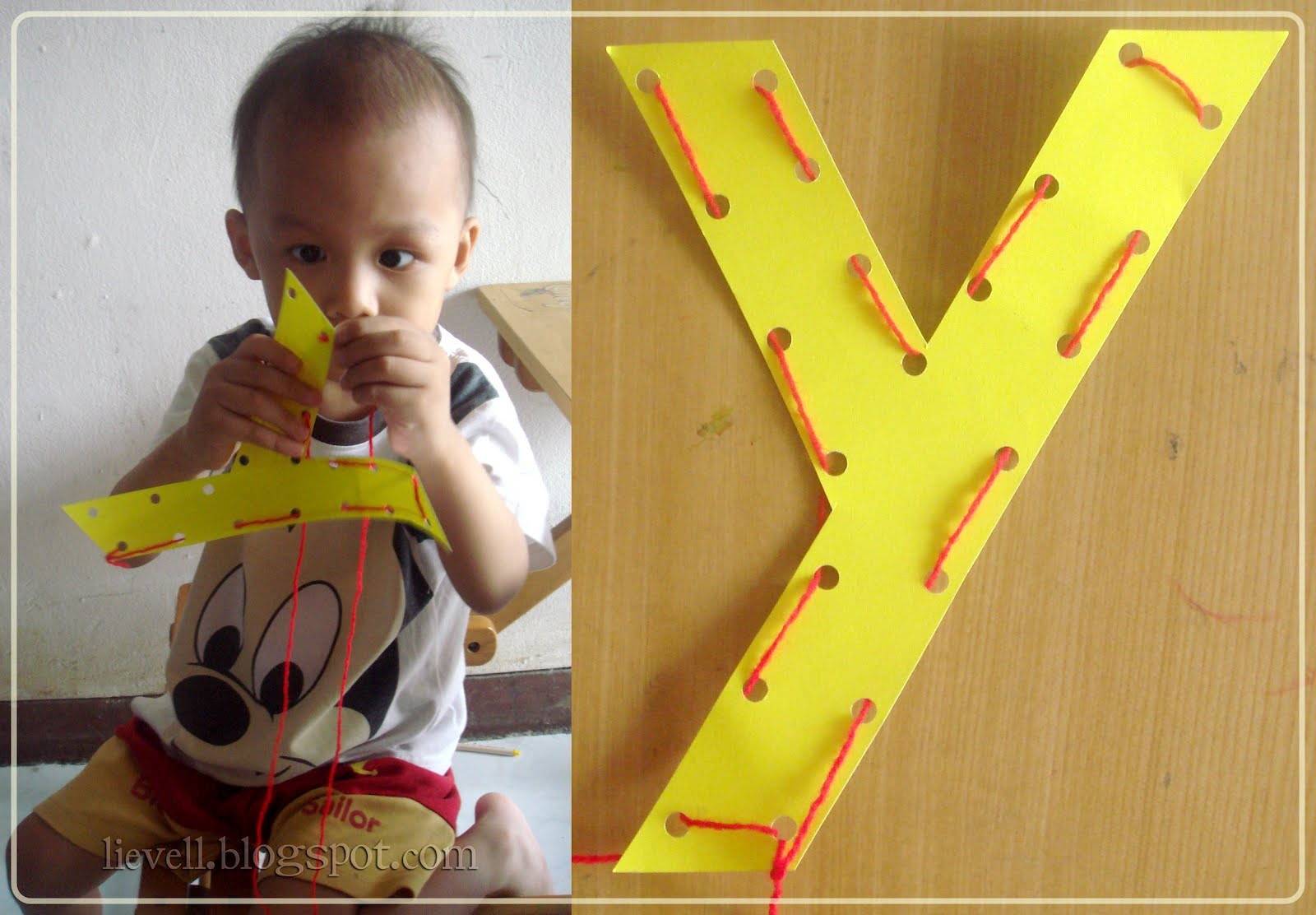 Nursery Letter Week Craft X Y Z