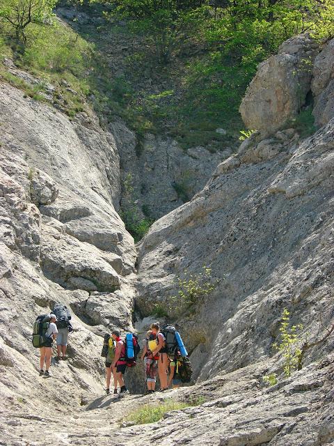 Каньон Байсу: Сухой водопад