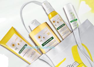 Logo Con Klorane vinci gratis l' esclusiva borsa con 4 prodotti