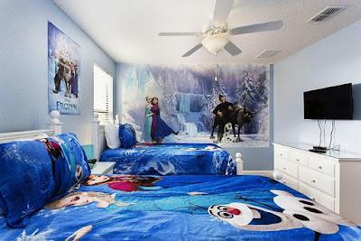 Kamar Anak Perempuan Frozen