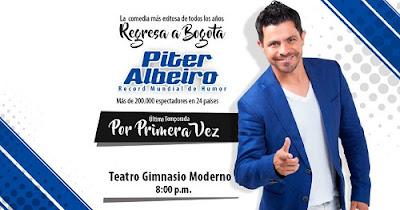 Piter Albeiro regresa a Bogotá