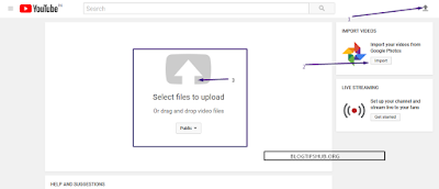 Process to upload video on YouTube in hindi