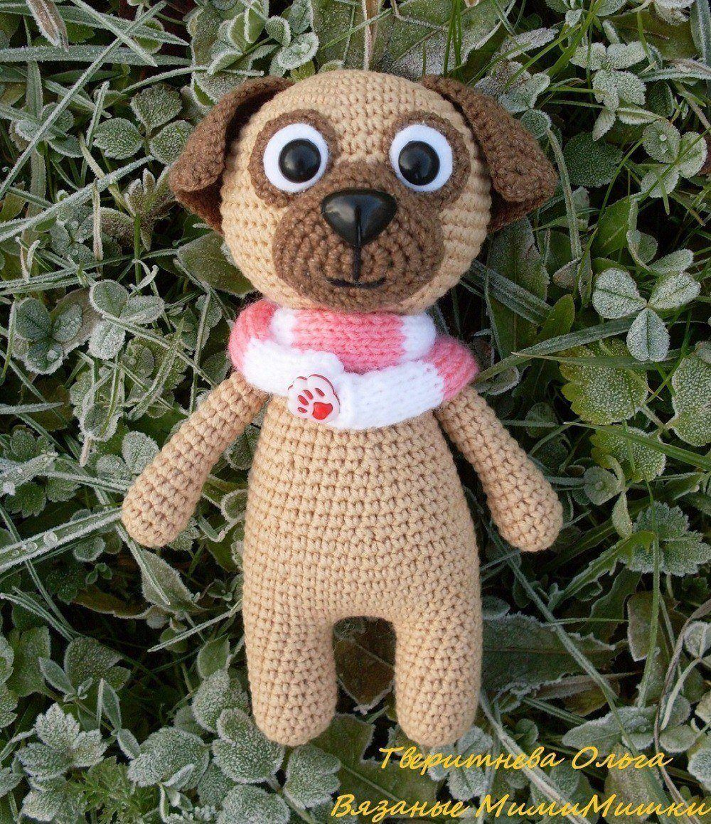 Baby Pug Dog amigurumi pattern - Amigurumi Today | 1159x1000
