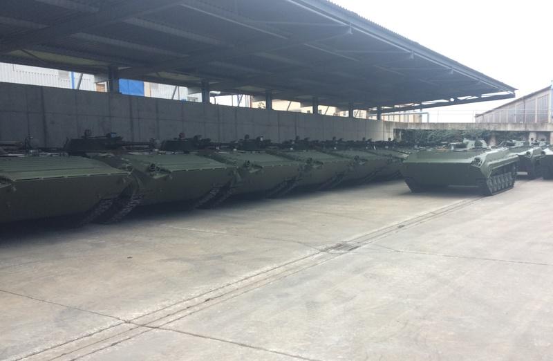 Спецтехноекспорт поставив до армії 50 нових БМП