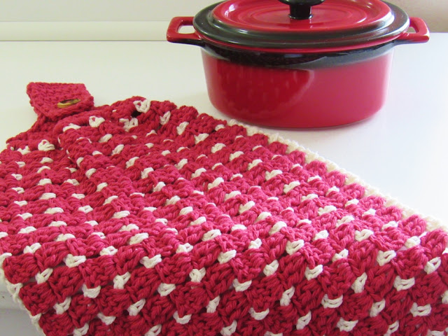 Crochet Kitchen Towel Pattern