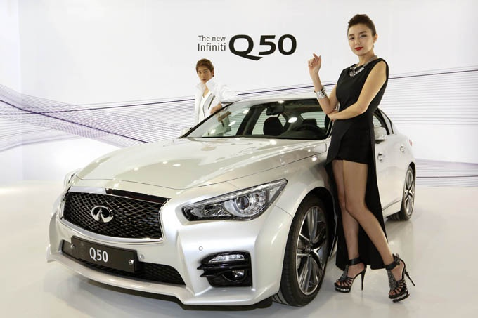 Best Hybrid Luxury Sports Sedan Under 45 000 Infiniti Q50s