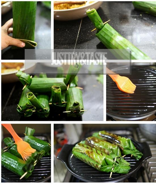 Resep Nasi Bakar Tongseng dan Ayam Suwir Bali Rempah Nusantara