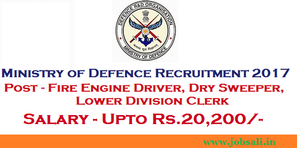 defence jobs in india, 12th pass Govt jobs, Lower Division Clerk recruitment