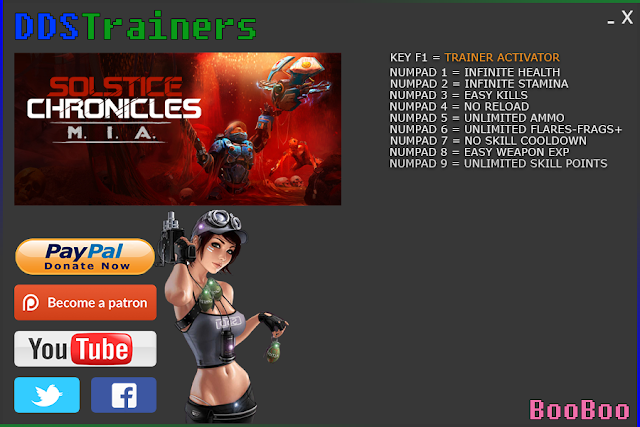 Solstice Chronicles MIA Trainers and Cheats for PC