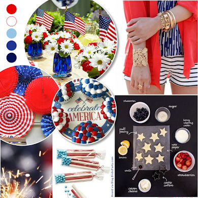 Red, White & Fabulous 4th of July Party Ideas