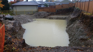 excavation, house, home, custom, construction, de watering,