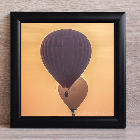 Hot Air Balloon, Gallery Wall Frame in Port Harcourt, Nigeria