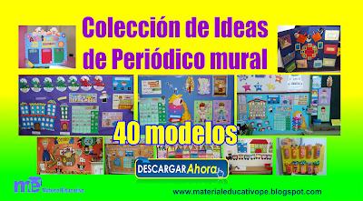 Coleccion De Ideas De Periodico Mural Material Educativo