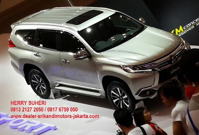 promo terbaik mobil pajero sport - dakar - ultimate - exceed - glx - 2018