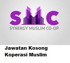 Iklan Kerja Kosong Koperasi Muslim Sinergi Perak