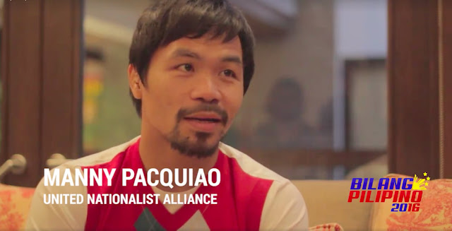 Manny Pacquiao Bilang Pilipino