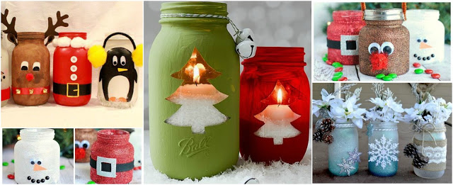 frascos-reciclados-adornos-navideños