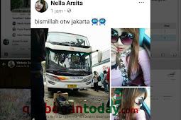 Sempat Unggah OTW Jakarta, Akun Nella Arsita Non Aktif Kembali