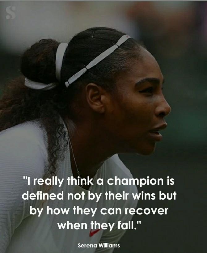 Serena Williams Inspirational quotes