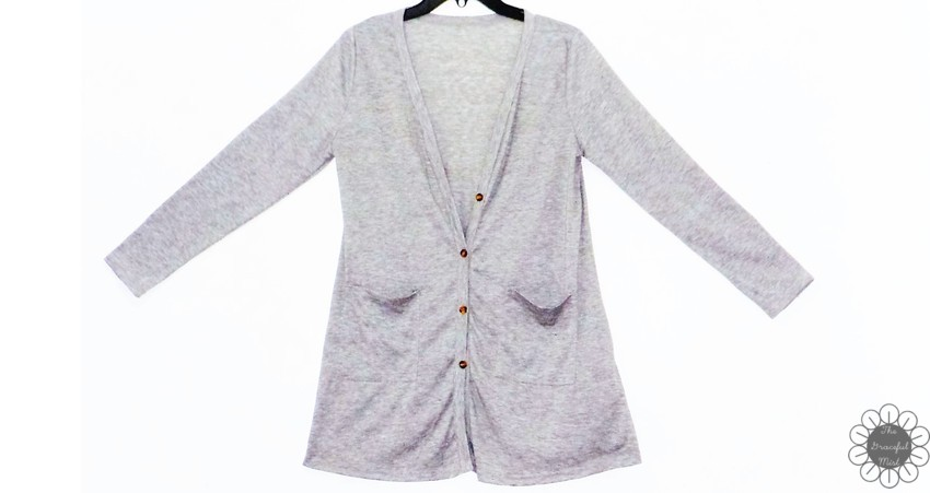 www.Zaful.com -Buttoned Loose Collarless Long Sleeve Cardigan - Online Shopping - Product Reviews at www.TheGracefulMist.com , @TheGracefulMist  Beauty, Fashion and Lifestyle