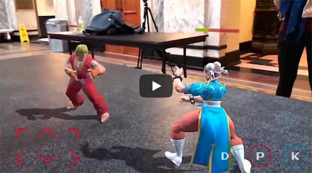 JOGANDO STREET FIGHTER EM VR