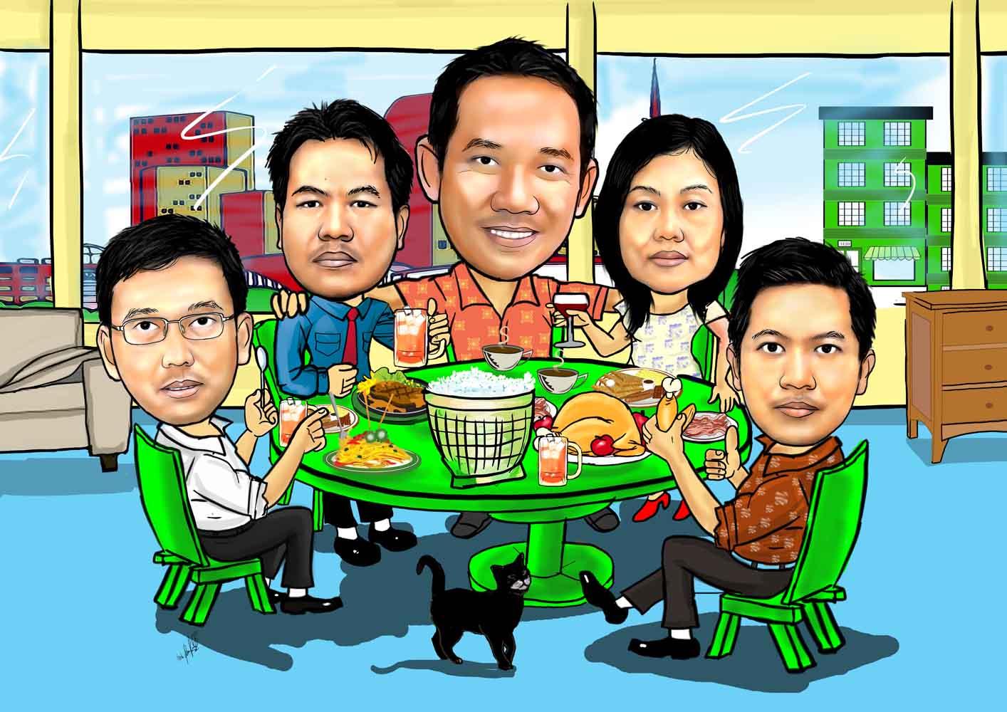 Jasa Karikatur Wajah Karikatur Digital Dan Manual 2015