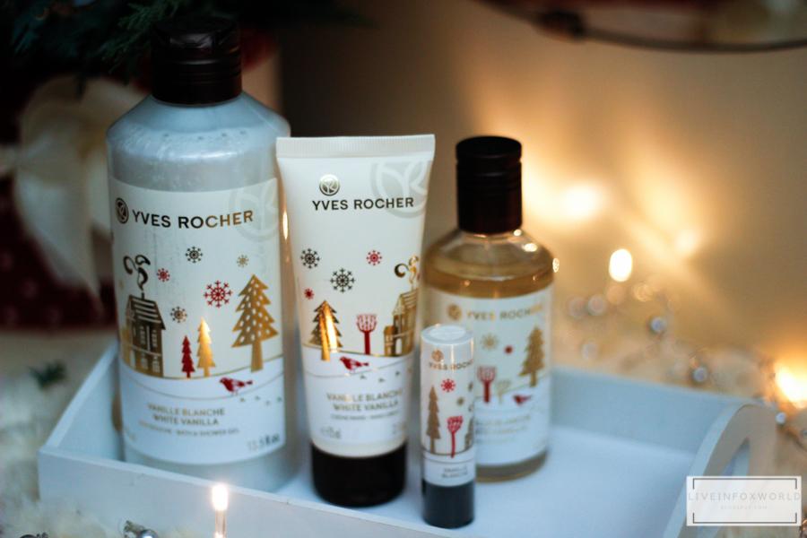 Limitovaná Vianočná edícia Yves Rocher Biela vanilka