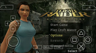 Tomb Raider Anniversary Edition ISO PPSSPP FOR ANDROID