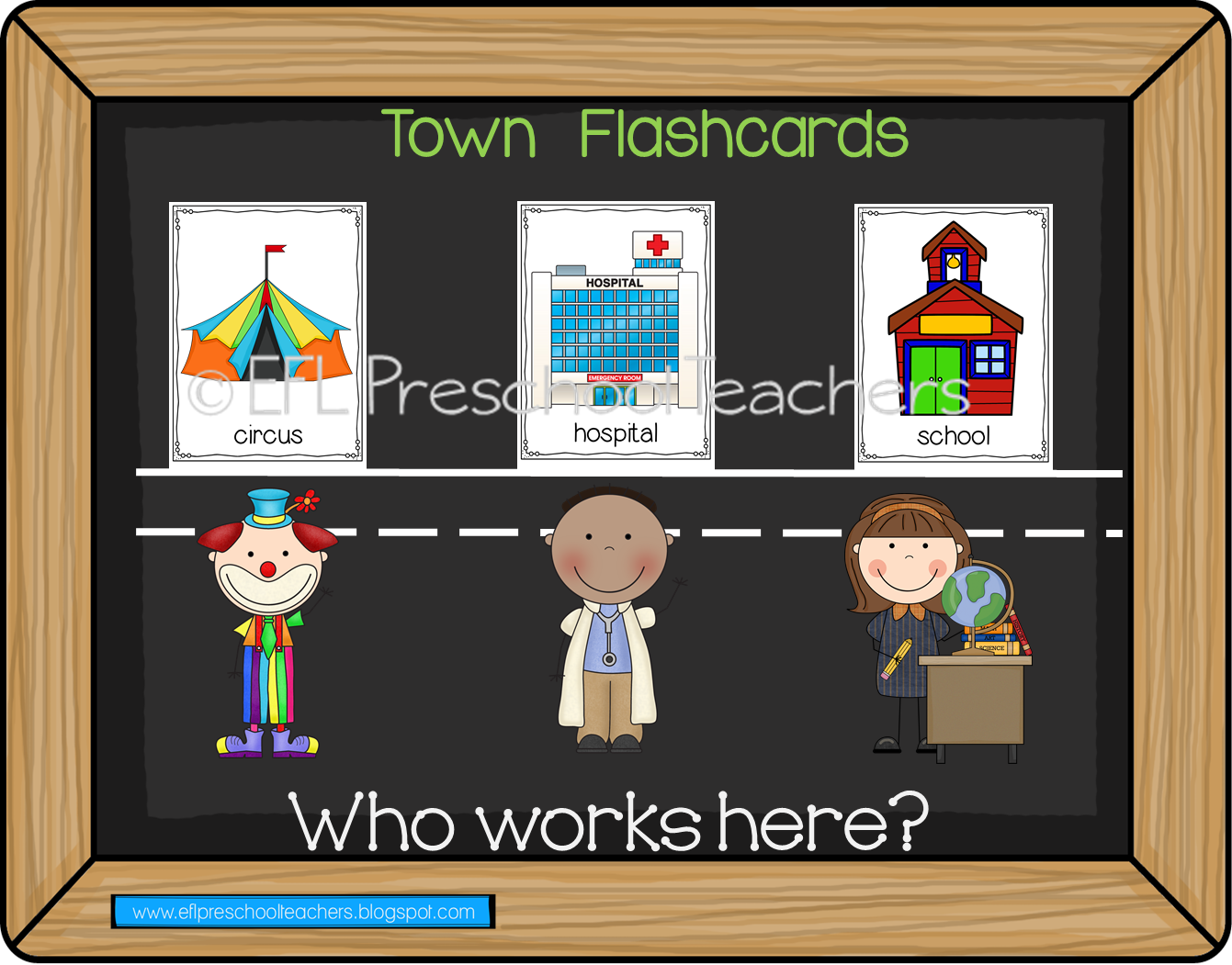 Esl Efl Preschool Teachers Town Theme For Preschool Ela