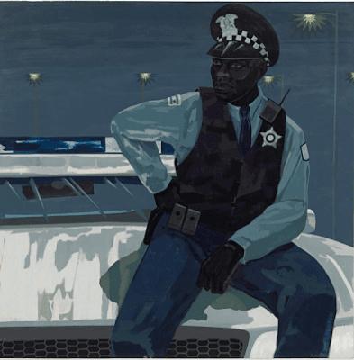 Керрі Джеймс Маршалл. Без назви (поліцейський) 2015 рік.