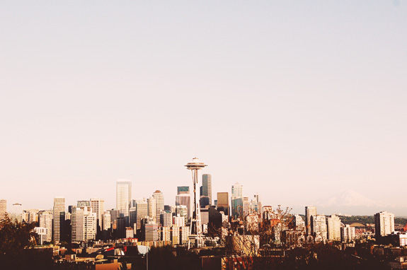 most instagrammable places in seattle kerry park skyline
