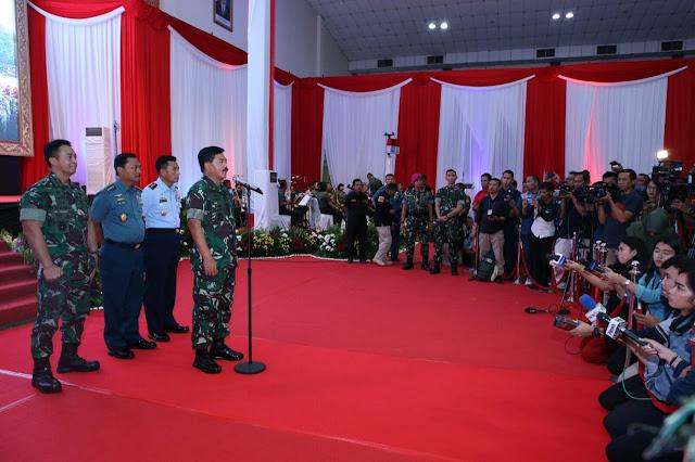 Panglima TNI: TNI Akan Lakukan Operasi Psikologi dan Teritorial di Papua