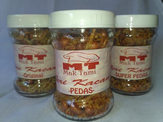 Jual Mak Tami teri kacang Spesial rasa original, pedas, super pedas