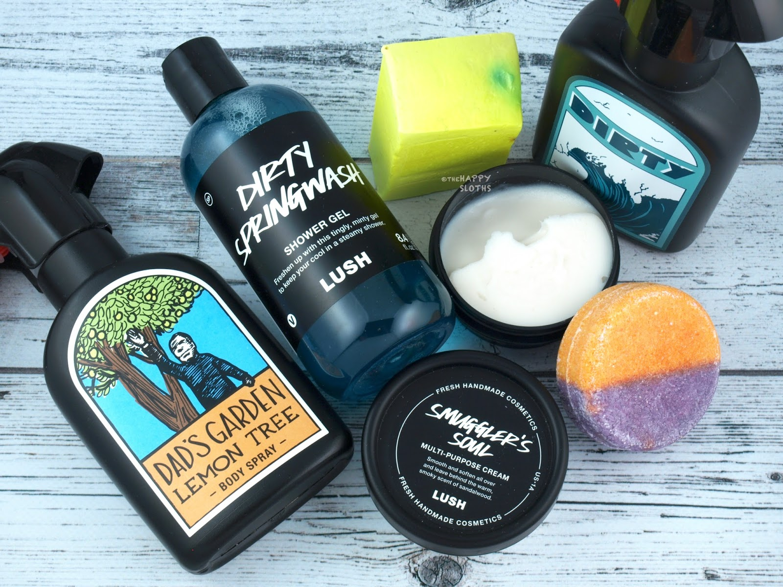 Lush Father's Day 2017 Gift Guide