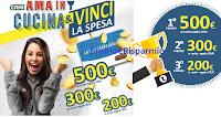 Logo Crai ''Ama in cucina e vinci la spesa'': un premio certo per tutti e vinci gratis card da 200, 300 e 500€