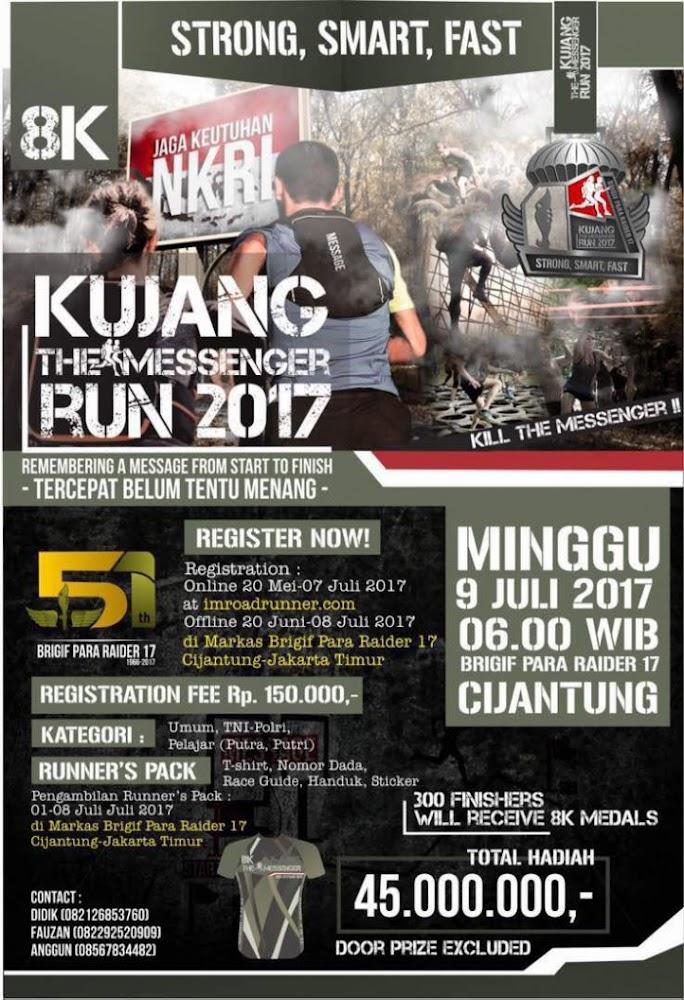 Kujang The Messenger Run • 2017