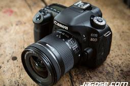 Spesifikasi Dan Harga Kamera Canon EOS 80D, Lengkap Terbaru