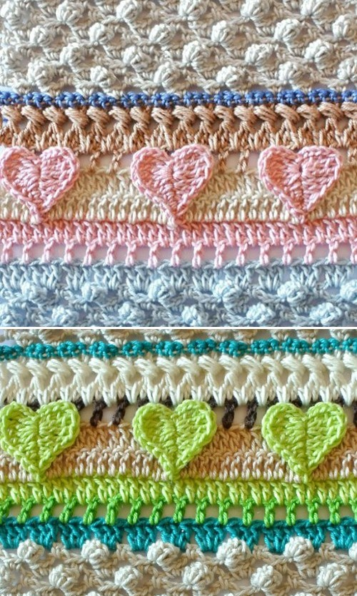 Crochet Mixed Stitch - Free Pattern