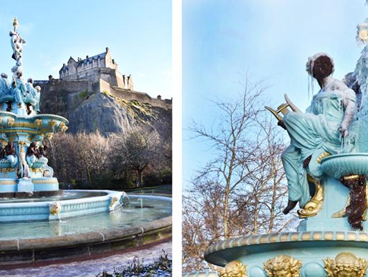Edinburgh im Januar