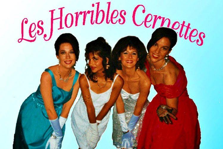 İnternetteki ilk görsel Les Horribles Cernettes adlı komedi müzik grubunun bir fotoğrafıydı.