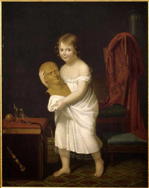 Portrait de Marie-Laetitia Murat (1806), Jeanne-Elisabeth Chaudet