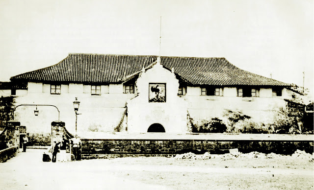 Santiago was supposed to have been named because of its location, which was similar to that of Fort Santiago in Manila.  Image source:  Public Domain, https://commons.wikimedia.org/w/index.php?curid=17993673.