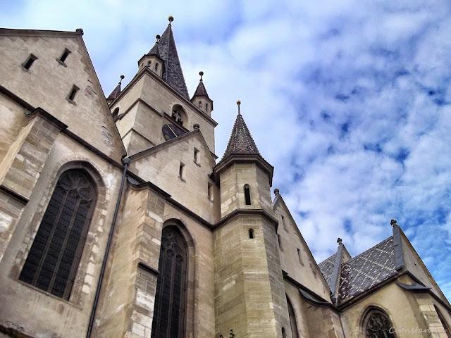 Sibiu - Biserica Evanghelicã - blog FOTO-IDEEA