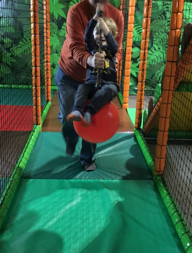 Our-Weekly-Journal-13th-March-2017-toddler-on-swing-ball