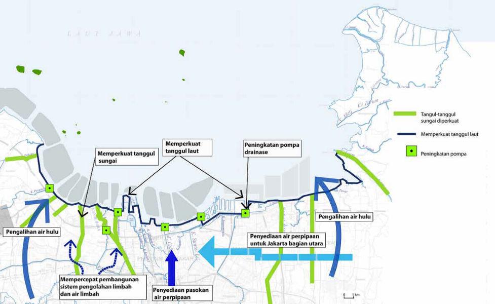 Sumber: Master Plan - Pengembangan Terpadu Pesisir Ibukota Negara