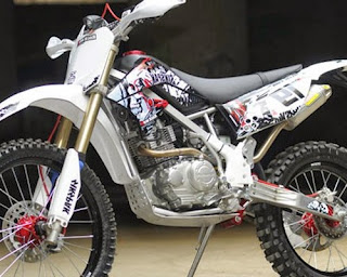 modifikasi klx 150 l