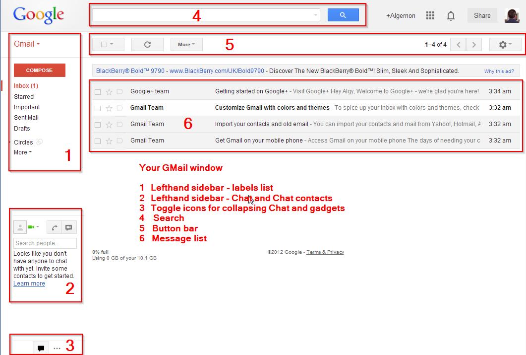 A Gmail Miscellany: Gmail 101