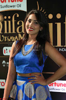Madhu Shalini Looks Super Cute Slim trim Blue Choli Ghagra IIFA Utsavam Awards 042.JPG